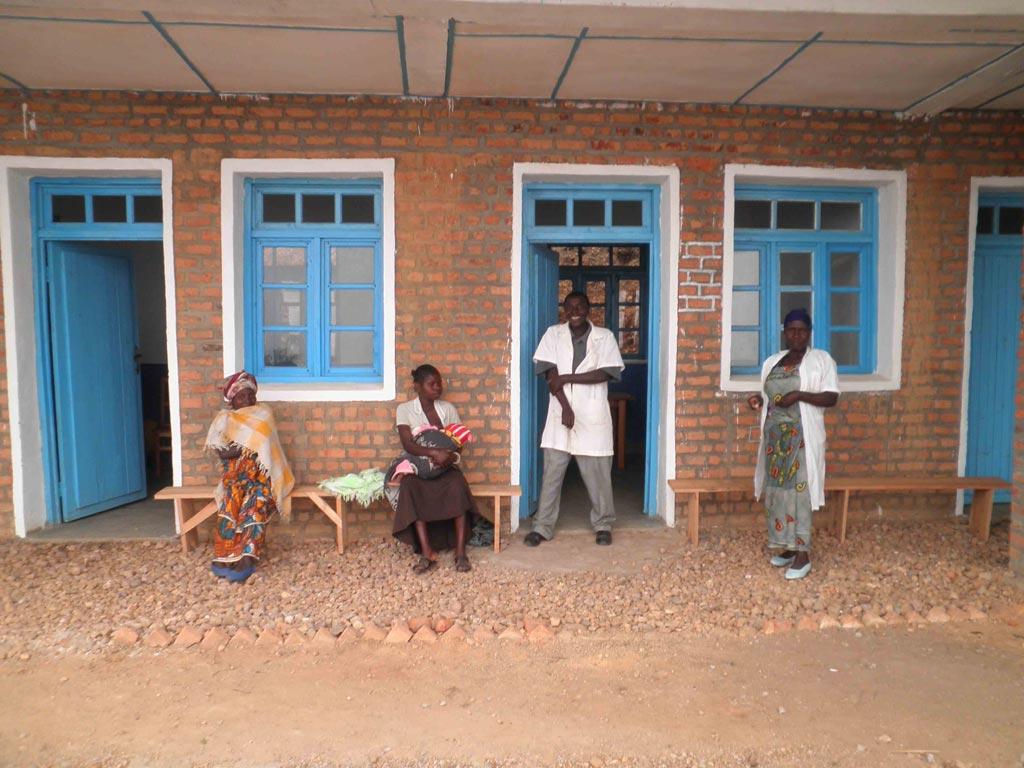 Le centre de santé de Kitokota au Nord Kivu en RDC