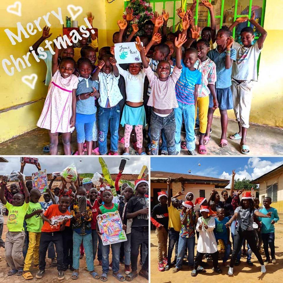 Fête de Noël pour les orphelins de Bumi en RD Congo