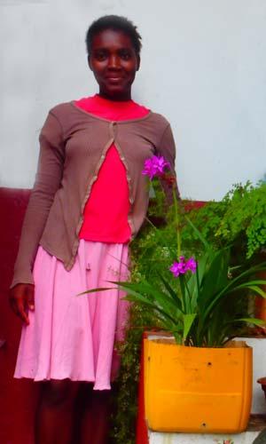 Fidelicia, orpheline de Madagascar lauréate du Baccalauréat 2019