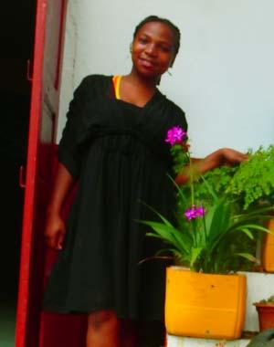 Florita, orpheline de Madagascar lauréate du BEPC en 2019