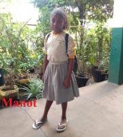 Manot, lauréate du CEPE à Madagascar en 2019