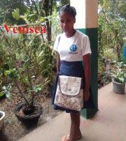 Venisca, orpheline de Madagascar lauréate du Baccalauréat 2019