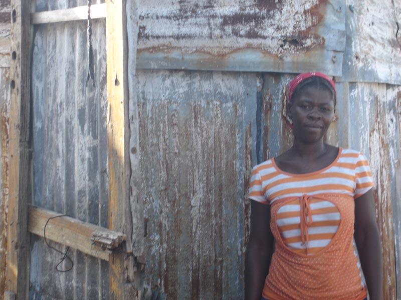 Carline Jacques survivante du séisme en Haïti