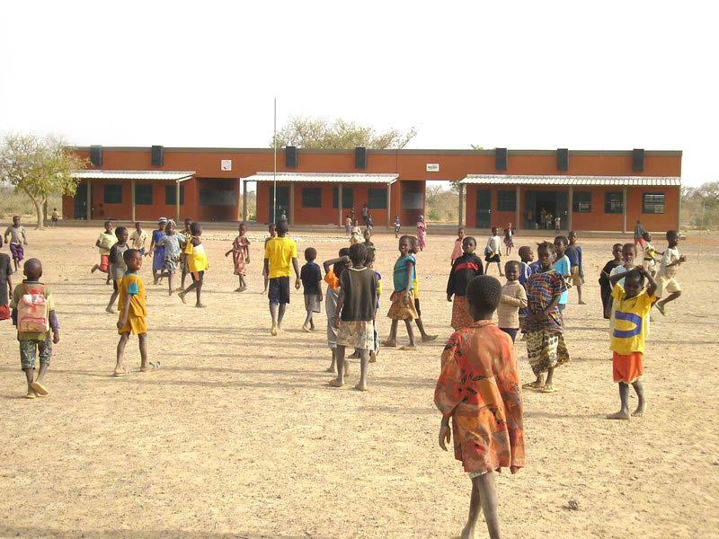 Ecole primaire de Doanghin au Burkina Faso