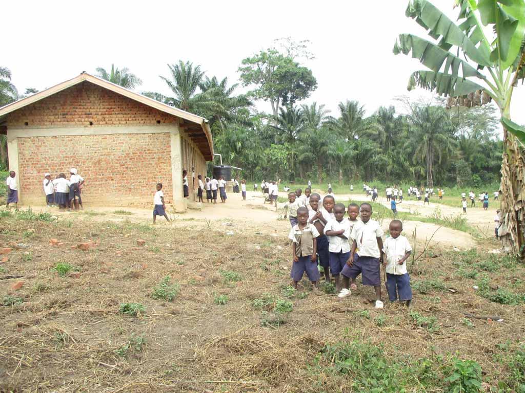 Ecole primaire de Kabweke en RD du Congo