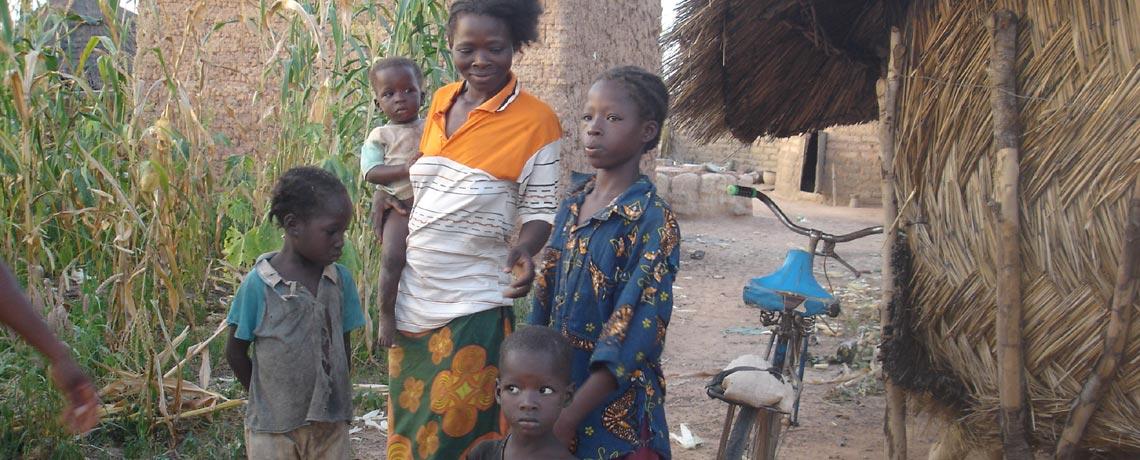 Aide alimentaire aux familles réfugiées victimes des attentats terroristes au Burkina Faso