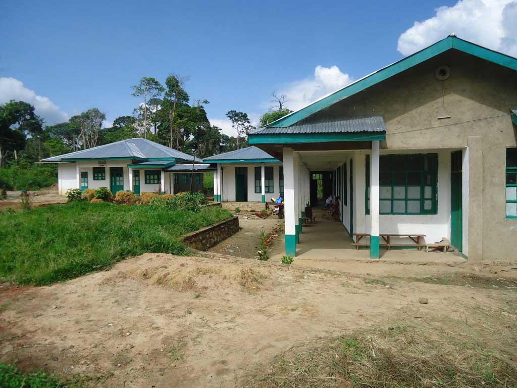 Aile chirurgicale du Centre de Santé de Kabweke en RD Congo