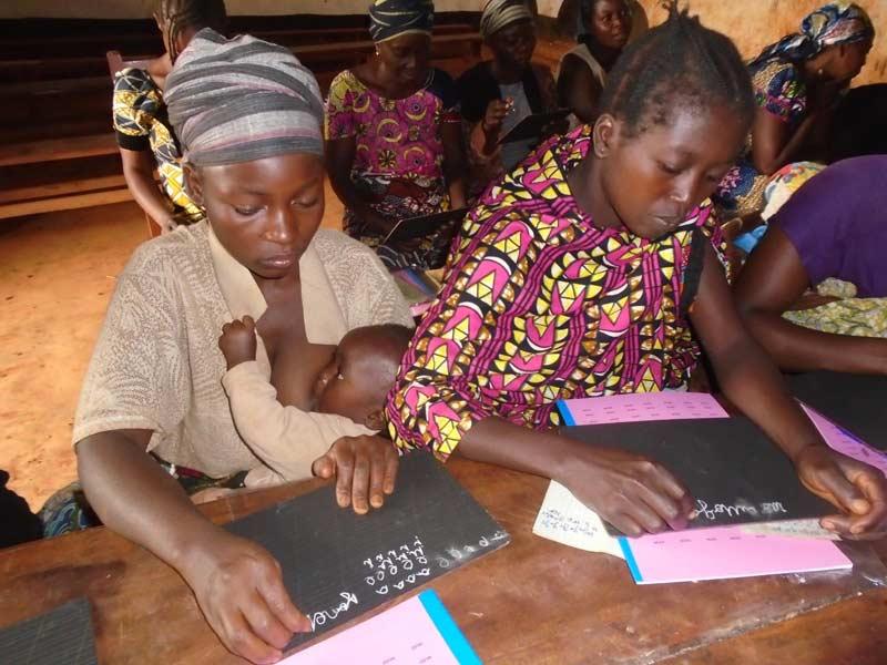 Alphabétisation des femmes au Nord Kivu en RD du Congo