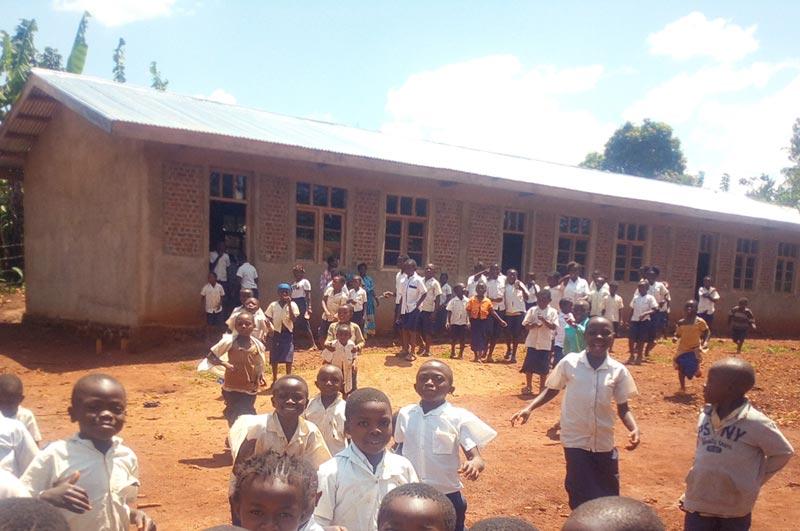 Centre de rattrapage scolaire de Mangina, Nord Kivu en RD Congo