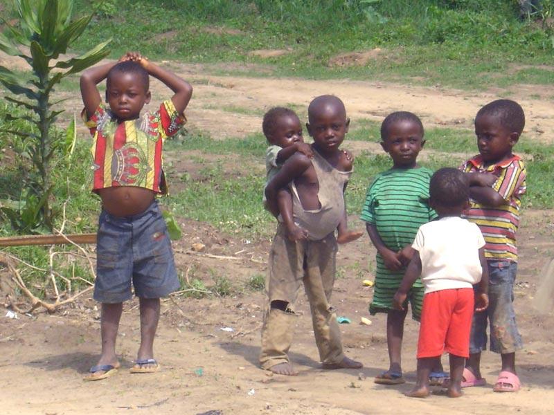 Enfants du Congo non scolarisés