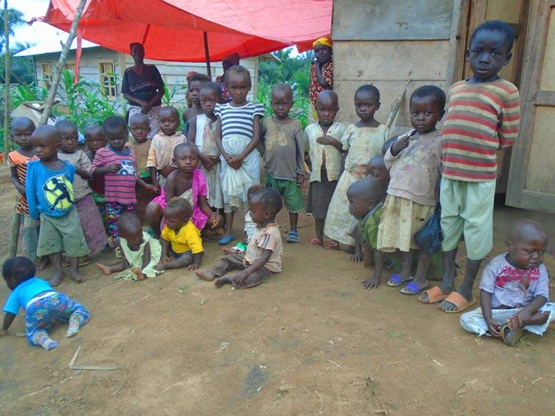 Enfants malnutris du Nord Kivu en RD du Congo