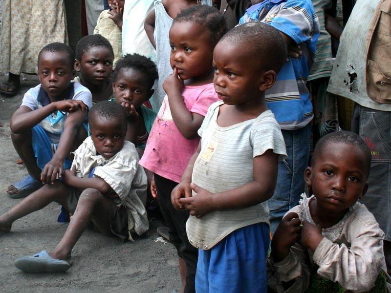 Enfants de familles vulnérables du Nord Kivu en RD du Congo