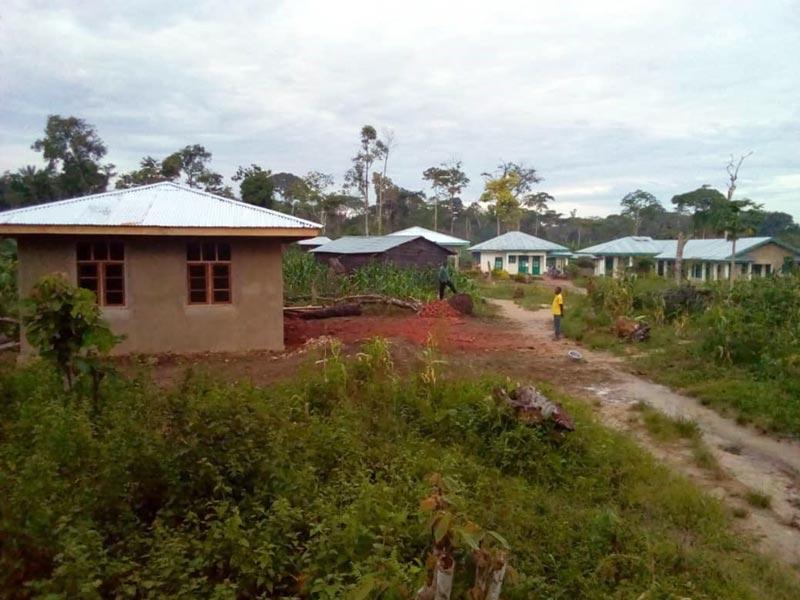 La maison de la nutrition près de l'hôpital de Kabweke au Nord Kivu, RD du Congo
