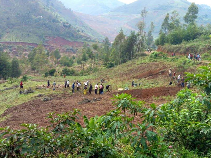 Zone d'implantation du Village Orange de Mudusa au Sud Kivu, RD du Congo