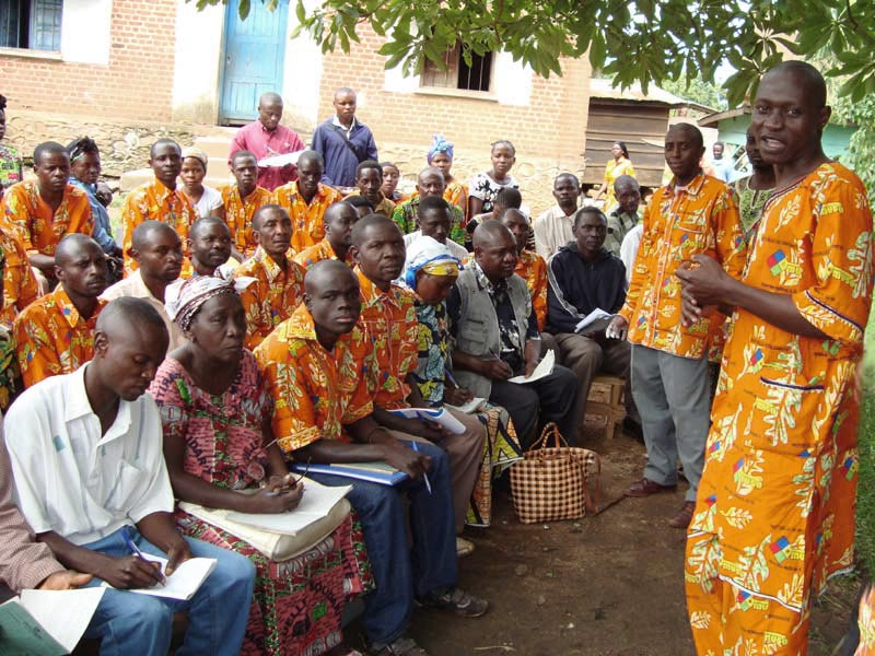 Réunion de musoniers au Nord Kivu en RD du Congo