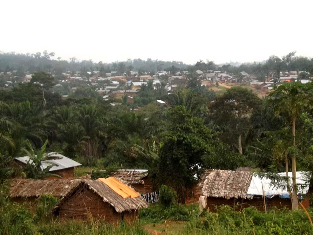 Village de Njiapanda-Bella en Ituri, RD du Congo