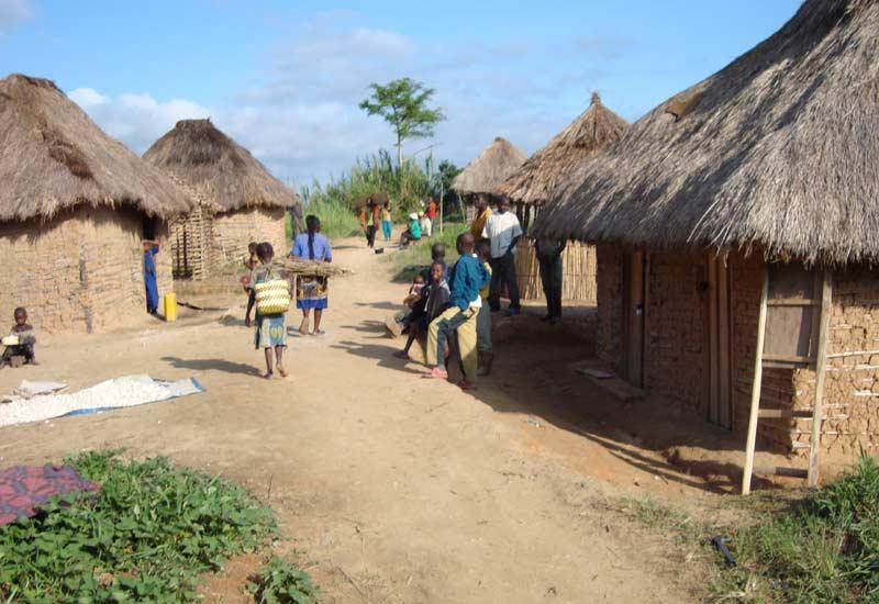 Développement rural en RD du Congo, village du Nord Kivu