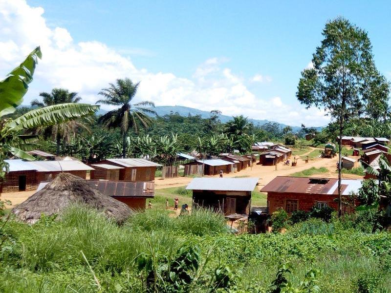Le village de Visiki au Nord Kivu en RD du Congo