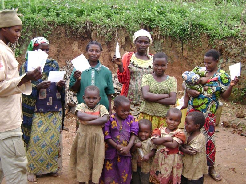 Actes d'indigence remis aux enfants pour la régularisation de leur enregistrement de naissance à l'état civil en RD du Congo