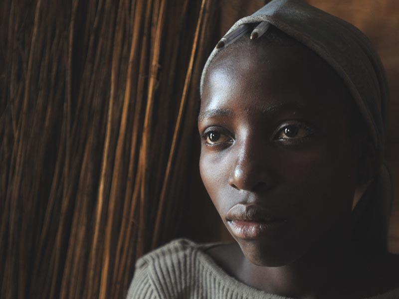 Enfant soldat au Nord Kiv, RD du Congo