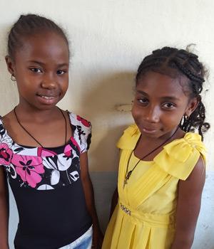 Orphelines de l'orphelinat des Filles de Marie d'Antalaha