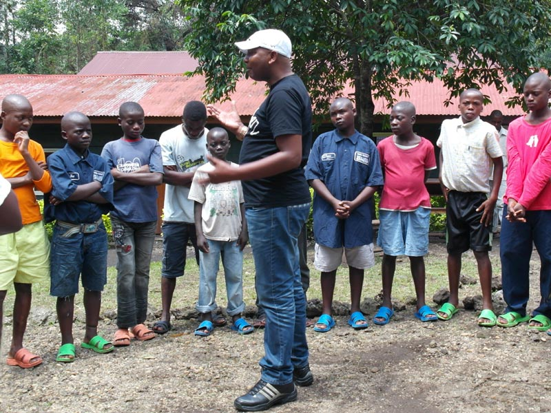 Enfant soldats démobilisés à Goma en RD du Congo
