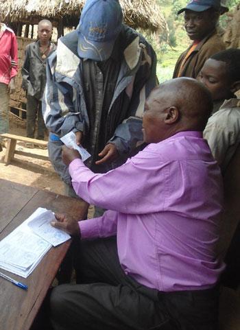 Bureau secondaire d'état civil pour l'enregistrement des naisssances au Nord Kivu, RD Congo
