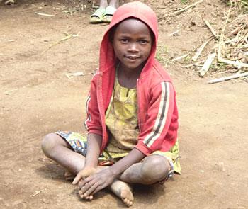 Orphelin du Rwanda en attente d'un parrain ou d'une marraine