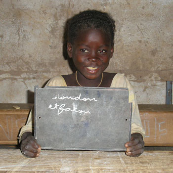 Enfant du Burkina Faso en attente de parrainage