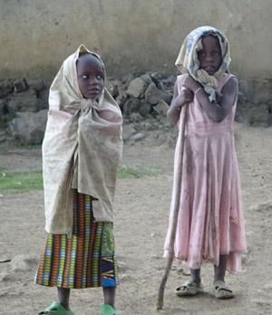 Enfants victimes des inondations meurtières au Rwanda