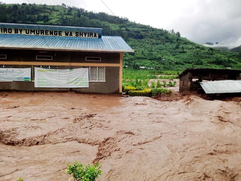 Inondations meurtrières au Rwanda