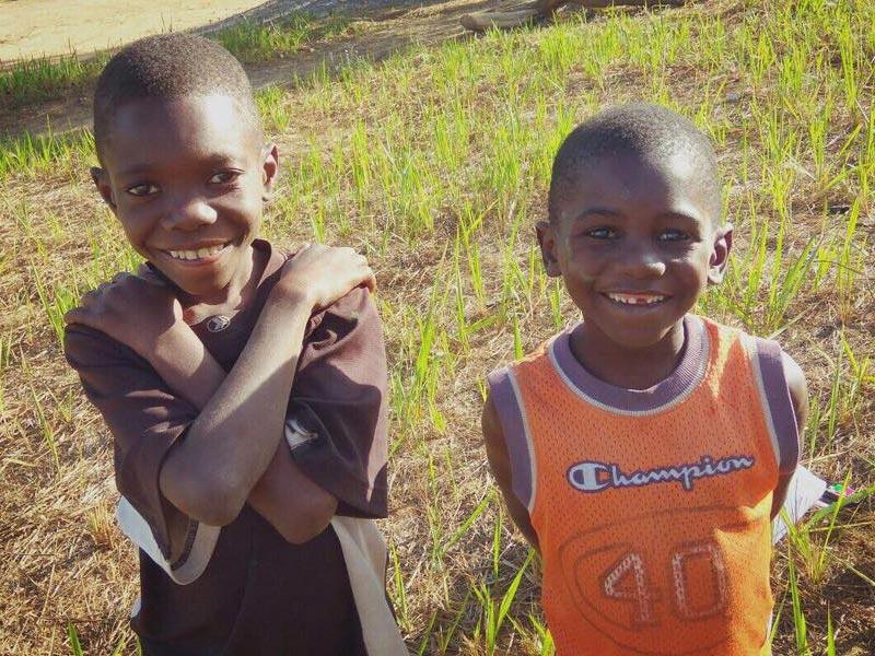 Orphelins hébergés au Village d'Enfants Bumi de Karavia en RD du Congo
