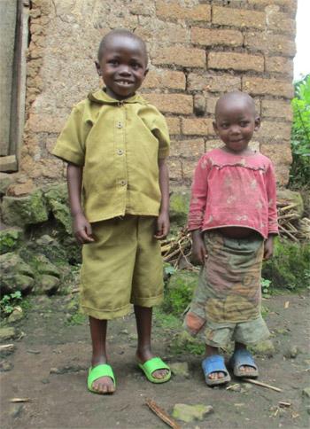 Enfants vulnérables du Rwanda pris en charge par le Point d'Ecoute de Gisenyi