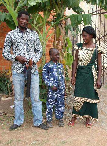 Réunification familiale d'un enfant des rues de Kamalondo, RD du Congo