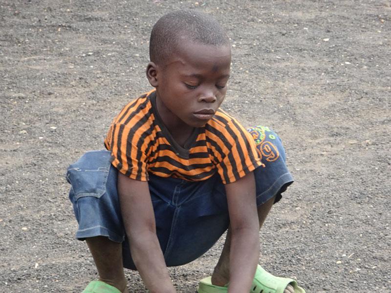 Enfants vulnérable pris en charge et scolarisé par le Point d'Ecoute de Gisenyi au Rwanda
