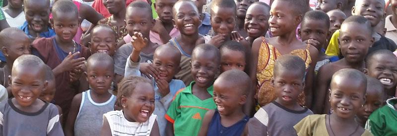 Enfants de l'école Ste Marie de Ouénou au Bénin