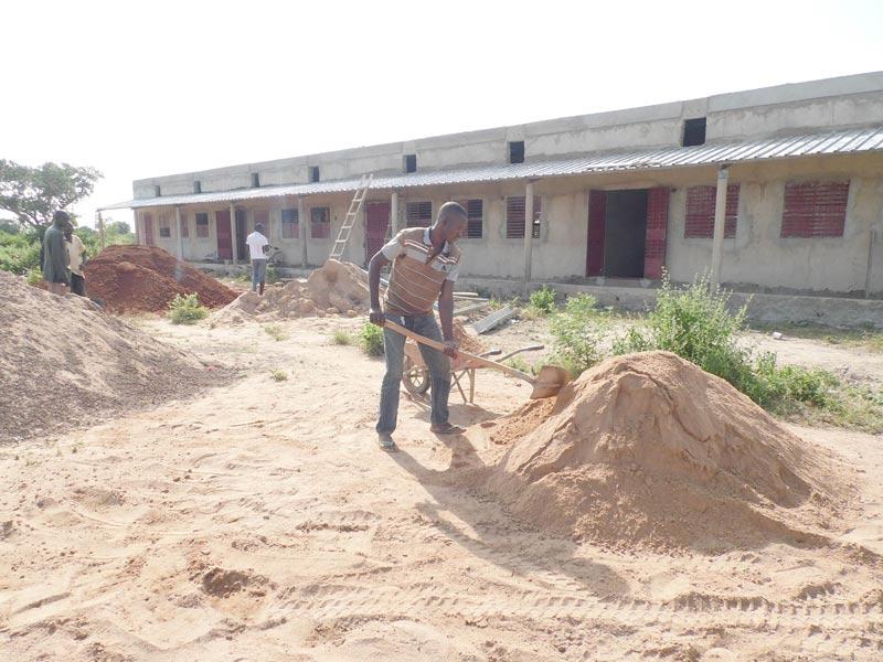 Extension du collège de Guiè au Burkina Faso - Construction de 4 salles de classe