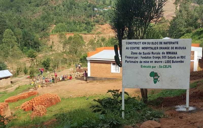 Démarrage des travaux de construction de la maternité du Centre Hospitalier de Mudusa au Sud Kivu, RD du Congo