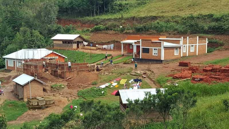 Construction de la maternité du Centre Hospitalier de Mudusa au Sud Kivu, RD du Congo