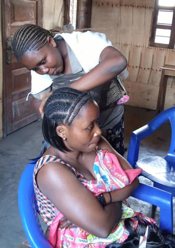 Formation coiffure tresses africaines