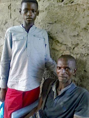 Médiation familiale entre un enfant des rues et son père à Kinshasa