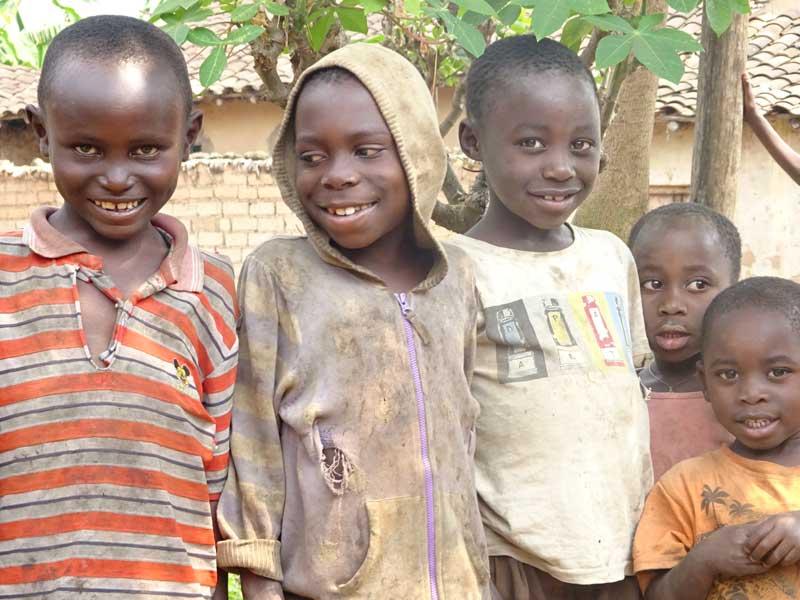 Orphelins du Sida de Gisenyi au Rwanda