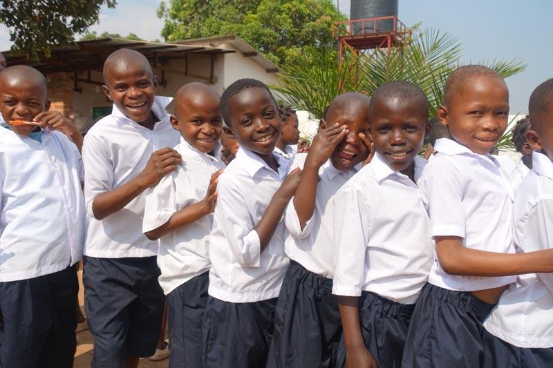 Rentrée scolaire pour les enfants de Bumi à Lubumbashi, RD du Congo