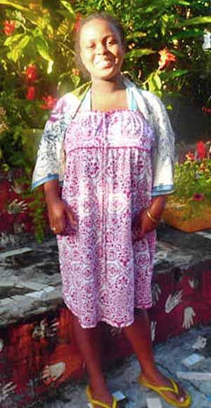 Elissa, orpheline de Madagascar lauréate du BEPC en 2020