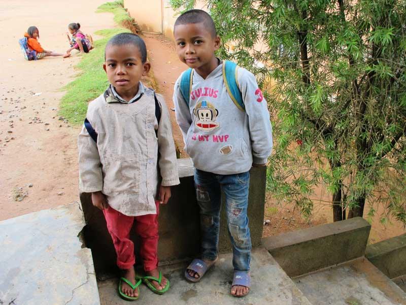 Elèves du Centre Akany Aina à Madagascar