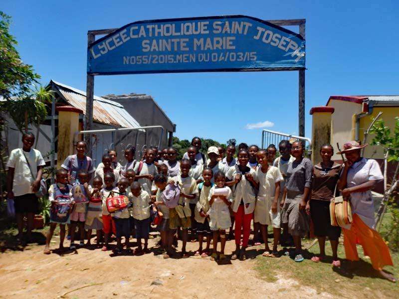 Rentrée scolaire sur l'Ile Ste Marie à Madagascar