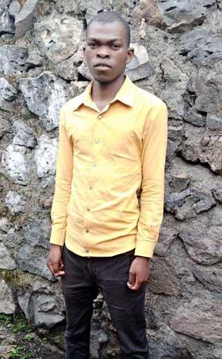 Rodrigue, nouveau bachelier à Goma