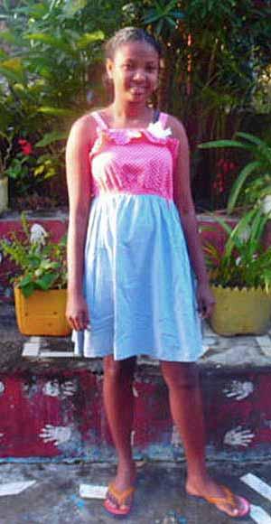 Yvette, orpheline de Madagascar lauréate du BEPC en 2020