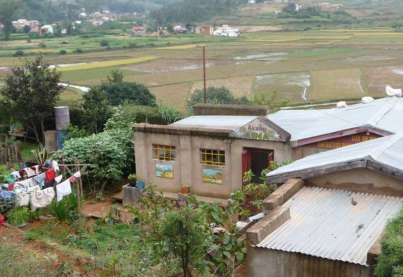 Le centre socio-éducatif Akany Aïna à Madagascar à ses débuts en 2005