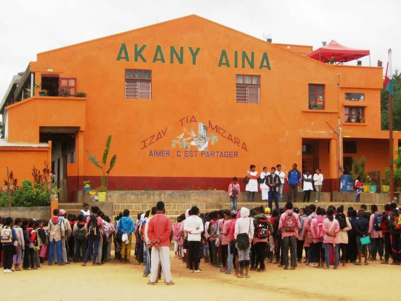Le centre socio-éducatif Akany Aina à Madagascar